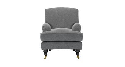 Bluebell Small Armchair in Harbour Grey Whitstable