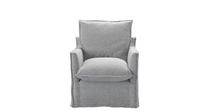 Isaac Armchair in White Cliffs Whitstable