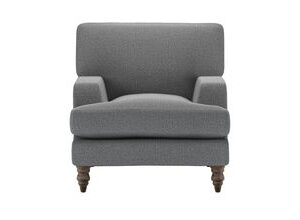 Isla Small Armchair in Harbour Grey Whitstable