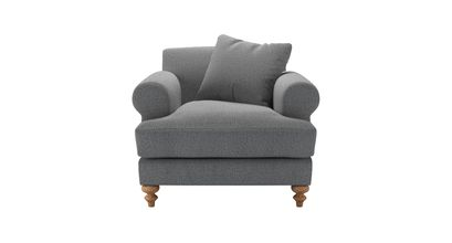 Teddy Armchair in Harbour Grey Whitstable